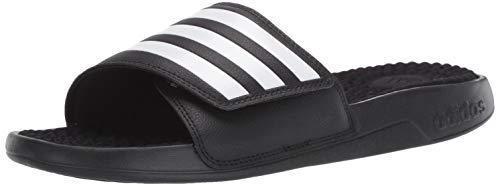 adidas Herren Sandalen Adissage TND Slides Beach Black F35565, Schwarz - Schwarz - Größe: 44.5 EU