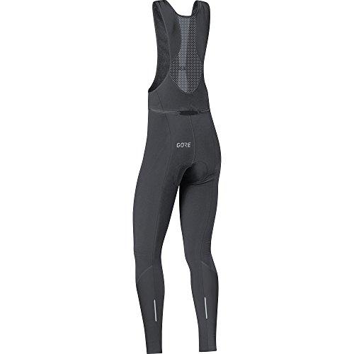 GORE Wear Atmungsaktive Damen Trägerhose, Mit Sitzpolster, C3 Women Thermo Bib tights+, 34, Schwarz, 100329 - 3