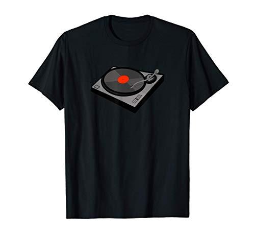 DJ Vinyl Turntable Deck Record Player Hip Hop Scratch Street T-Shirt