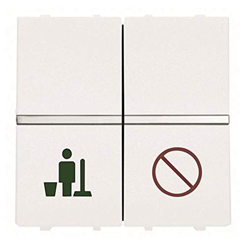 Niessen zenit - Interruptor servicio/no molestar blanco