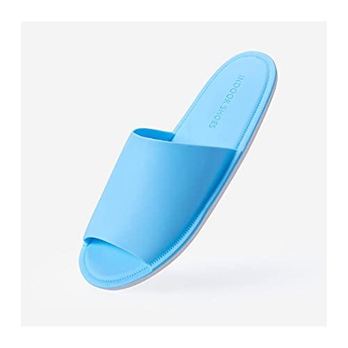 ciabatta da spiaggia Pantofole da viaggio ultra-sottili Donne Ultra morbide scarpe PVC pieghevoli in PVC con suola antiscivolo confortevole Durevole per la casa Bagno Ufficio dell'hotel Sandalo Perfet