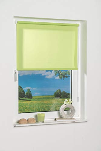 K-home 541802–1Klemmfix Mini avvolgibile, Colore: Verde Luce Diurna, plastica, 40x 150cm, Tessuto, Verde, 40 x 150