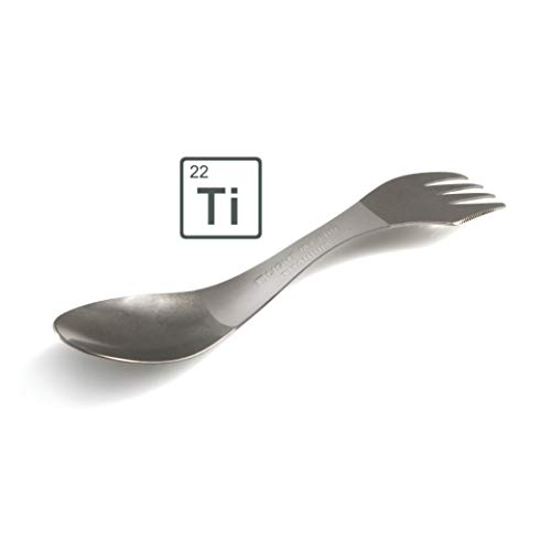 Light My Fire to Go Mehrweg Besteck Spork Titanium - Gabel-Löffel-Messer aus Titan