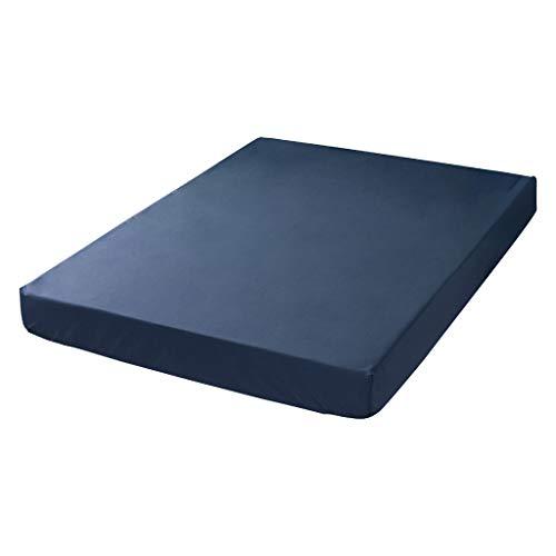 Matratzenschoner Wasserdicht Serria® Atmungsaktive Matratzenauflage Anti-Rutsch-Schutzhülle Nässeschutz Bett Erwachsene Kinder Marine 137x190x36cm