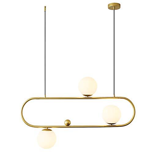E27 Moderno Lámparas De Araña 3 Luces Fixture Sputnik Iluminación Colgante Mid Century Creativo Colgante De Luz Nórdico Lámpara Colgante Para Cafe Salón Cocina Bar-Dorado 3 luces