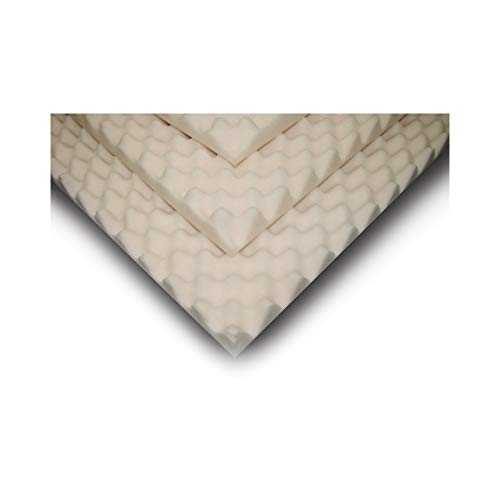 Mattress Overlay Convoluted Foam 4 X 34 X 72 Inch, SP45S-000 - Sold by: Pack of One