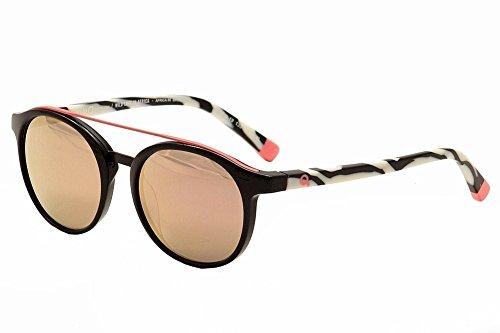 Etnia Barcelona - Gafas de sol - Lamer completa - para hombre black pink BKCO 56