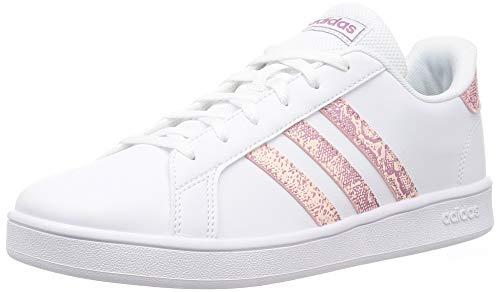 adidas Grand Court K, Zapatos de Tenis, FTWR White FTWR White Core Black, 28 EU