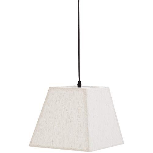 lampadario camera da letto tessuto Umi. by Amazon