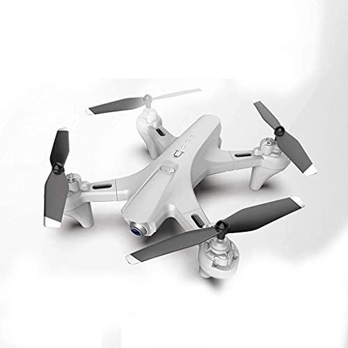 FMHCTN Fotocamera FPV Pieghevole Drone 4K, Doppia Fotocamera HD WiFi Quadcopter RC modalità di Mantenimento dell'altitudine Professionale, Nero 1080P