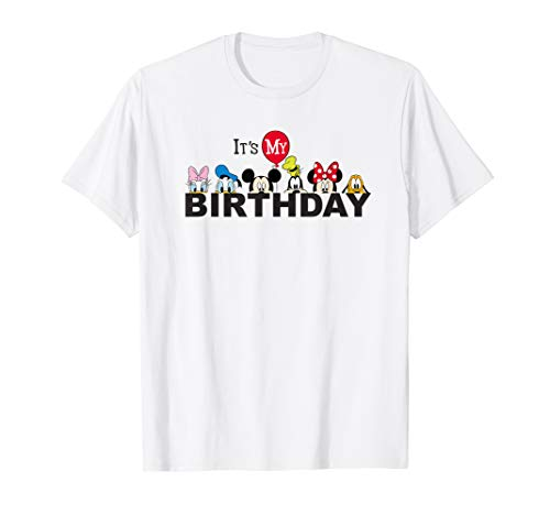 Disney Mickey and Friends It's My Birthday T-Shirt