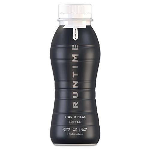 Runtime Liquid Meal - Coffee   24 x 330ml   Vollwertiger Mahlzeitersatz, lange Sättigung & Leistungsfähigkeit   23 Vitamine & Mineralien
