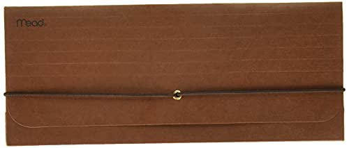 Mead Red Check Wallet (35260), 0.19 x 10.81 x 4.5 inches