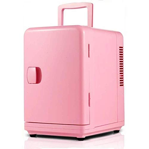 Fee-ZC Verdikkingskoelkast, 6 liter, stil, minibar, auto, mini-koelkast, borst, cosmetica, koelkast, multifunctioneel, praktisch voor thuis, kantoor, slaapzaal, outdoor reis