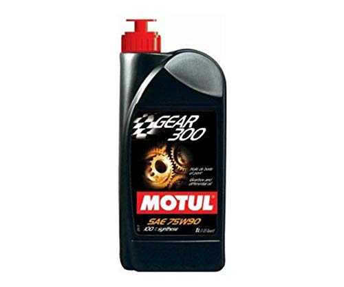 Motul Gear 300 Gearbox Oil - 75W90 - 1L 317811 by Motul
