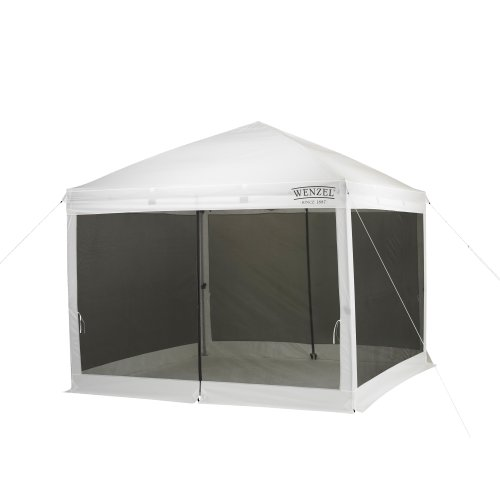 Wenzel Smartshade Screen House White, 10 foot x 10 foot