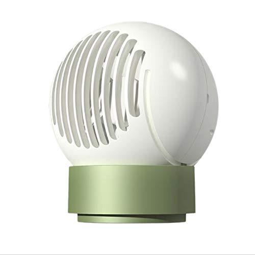 VANOLU Ventilador de escritorio multifuncional silencioso Sub negativo Ion ventilador lámpara de control remoto luz nocturna blanca