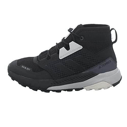 adidas Unisex dziecięce buty trekkingowe Terrex Trailmaker Mid R.rdy K, wielokolorowa - Wielokolorowy aluminiowy - 30 EU