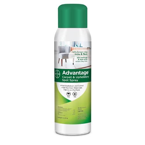 Advantage Flea, Tick and Bedbug Carpet and Upholstery Spot Spray, 16 oz