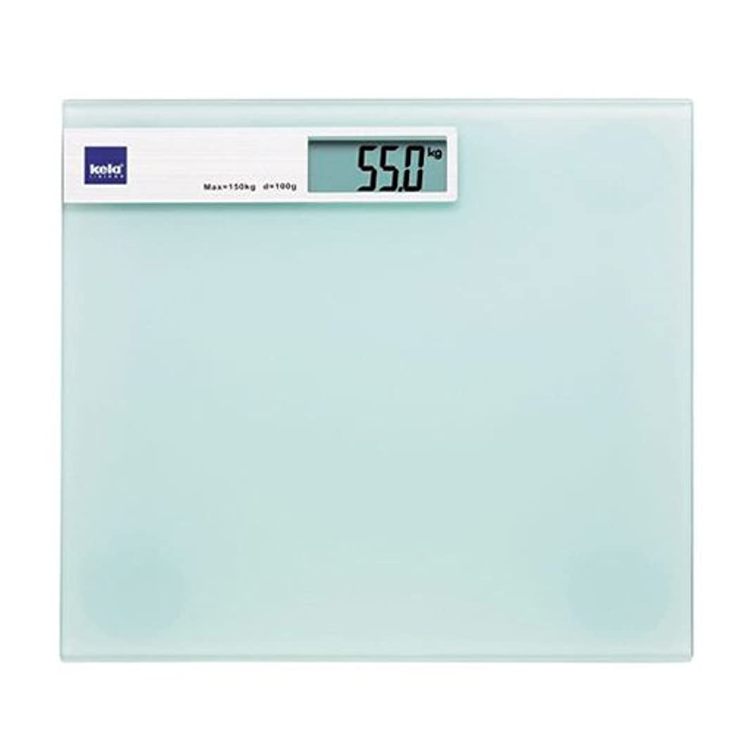 イヤホンさておきテセウスKela(ケラ) ホワイト サイズ:30×30×H2cm バスルームスケール Linda 21299