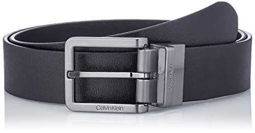Calvin Klein Nano Plaque/Essential Buckle Cinturn para Hombre