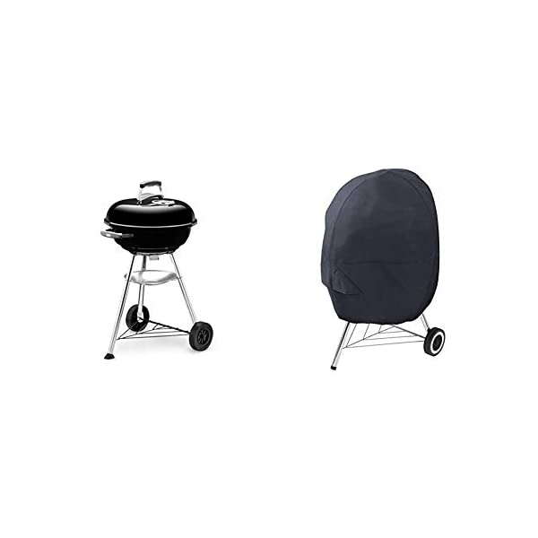 Weber Compact 47cm Charcoal BBQ Black 1