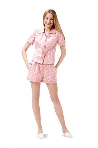 Burda 6742 Schnittmuster Pyjama & Nachthemd (Damen, Gr. 34-44)