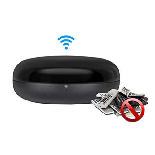 XGLL Mando a Distancia WiFi, Control Remoto Universal para TV, STB, Aire Acondicionado, DVD, proyector, Aire Acondicionado, Compatible con Alexa, Google Home