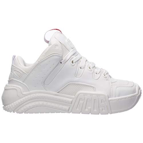 GCDS Sneakers Donna Bianco 39 EU