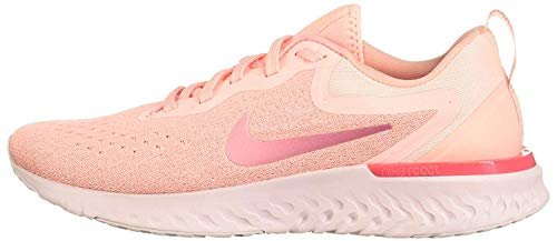 Nike Wmns Odyssey React, Zapatillas de Running Mujer, Rosa (Korall/Weiß Korall/Weiß), 36.5 EU