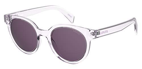 Levi's Lv 1009/S Gafas de sol ovaladas, Púrpura/Ombre Force.,
