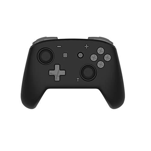 Quskto Somatosensoriel Double Vibration Gamepad Manette sans Fil Jeu Peut être utilisé for déplacer Les Ordinateurs Haute sensibilité et Plus Confortable (Color : Black, Size : 15.4x11.1x5.9cm)