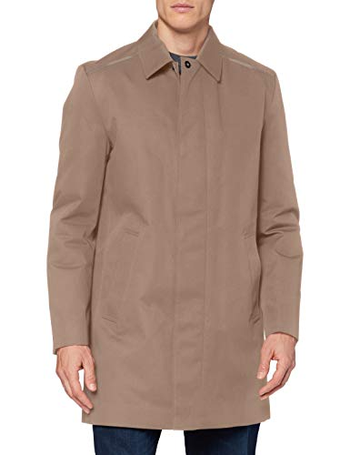 HUGO Marec2041 Dress Coat, Color marrón Claro (238), 54 para Hombre