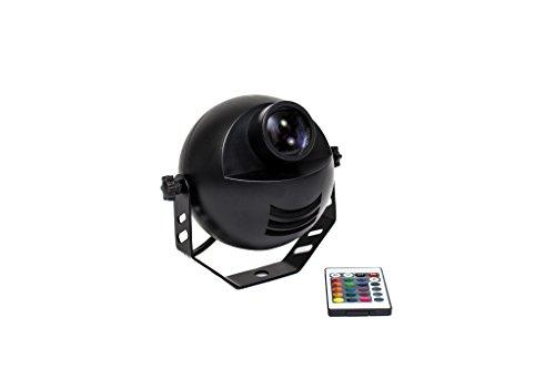 LED-RGB-PinSpot mit Fernbedienung (Infrarot) Punktstrahler/Discokugel Spot