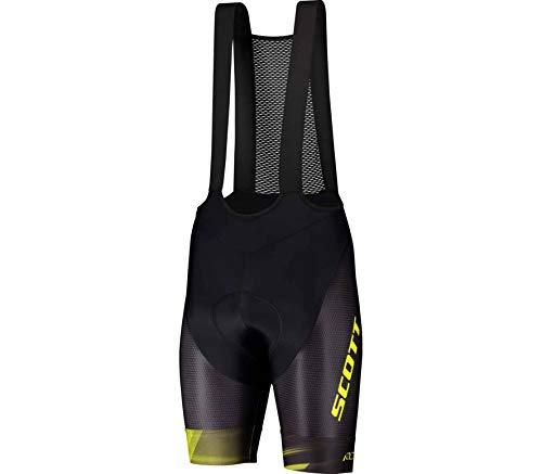 Scott RC Pro +++ Fahrrad Trägerhose kurz schwarz/gelb 2020: Größe: S (46/48)