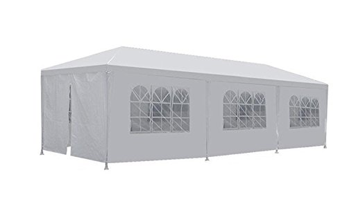 FDW PT-1030-8-White Outdoor Gazebo