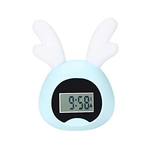 Kinderuhr Kinderwecker Nachttisch LED-Uhr Kinder Digitaluhren Für Schlafzimmer, Zuhause, Büro