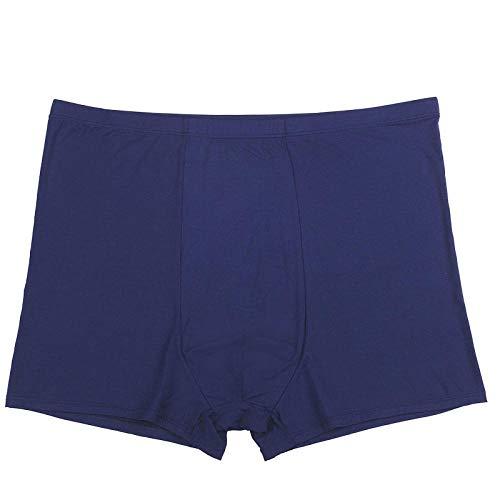 BLOMDE Unterhosen Männer 4Pcs Plus Größe 7XL 8XL 9XL 10Xl 11Xl 12Xl 13Xl Lose Taille 190Cm Boxer Männer-D_12Xl