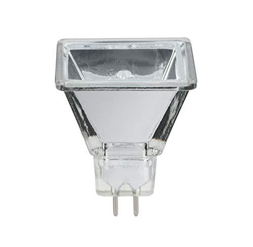 Paulmann 833.71 Halogen Reflektor Quadro Flood 75° 20W Warmweiß GU5,3 12V Niedervolt 83371 Glas Leuchtmittel Lampe