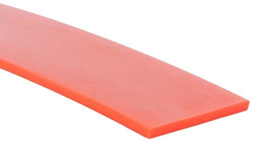 MJ May 60-1.25-OF-100 1-1/4' Wide, Orange, Flat Belting, 100' Le