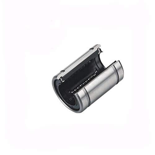 YIJIAN-UMBRELLA Rodamientos de Bolas lineales de precisión LM30UUOP de Movimiento Lineal Cojinetes (2 Pcs) LM30 LM 30 mm de cojinete de Tipo Abierto Linear LM30UU OP 30 * 45 * 64 mm