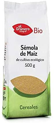 Polenta, Sémola de Maíz Bio. Ecológica. Pack 6 x 500g (Total 3Kg). El Granero.