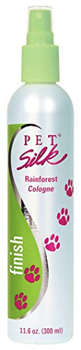 Pet Silk Rainforest Cologne (11.6 oz) - Dog Deodorant Perfume Body Spray with Conditioning &...