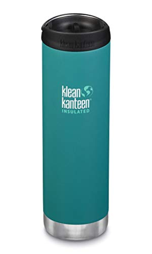 Klean Kanteen - TKWide Vacuum Insulated   Bouteille de voyage isotherme   592 ml   Couleur / Finition : Emerald Bay