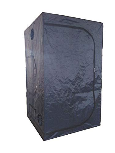 SavingPlus Indoor Grow Light Box Tent Aluminum lined Bud Dark Room for Hydroponic Fan 120X120X200CM