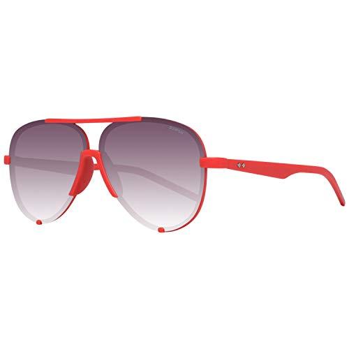 Polaroid PLD 6017/S 8W ABA 60 Gafas de Sol, Rojo (Red Grey SF Pz), Unisex Adulto