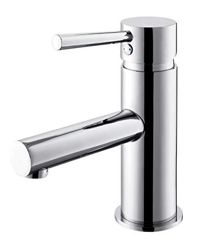 GRIFERIAS BORRÁS - SERIE MIL - Grifo lavabo Monomando MIL0341C, Cromo - Instalación Baño