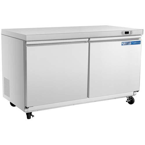 Kratos Refrigeration 69K-768 48'W Undercounter Refrigerator, 2 Door