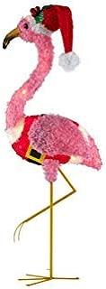 festive light up flamingo