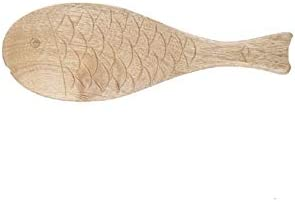 FMSZDSTMDchanz service New arrival A Hot-selling Fish-shaped Spoon Rice Made Wooden